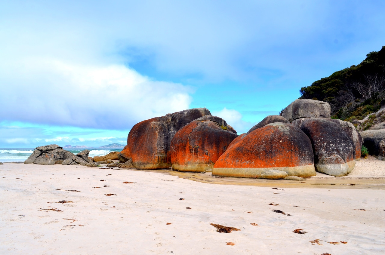 wilsons promontory national park Squeaky Beach