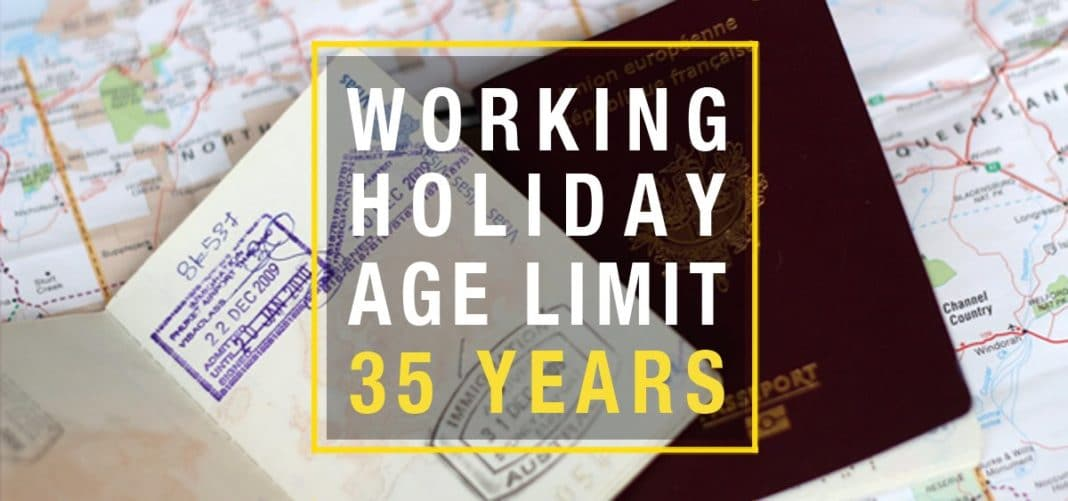 age limit work and travel