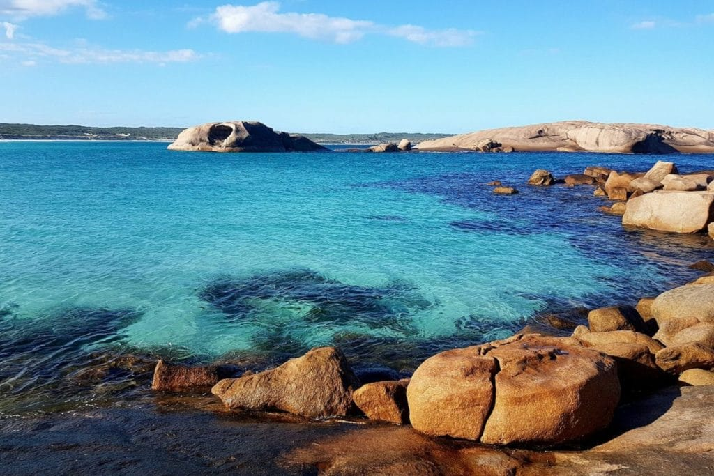 lucky bay best places western australia