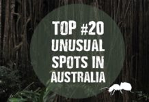 unusual spots in australia