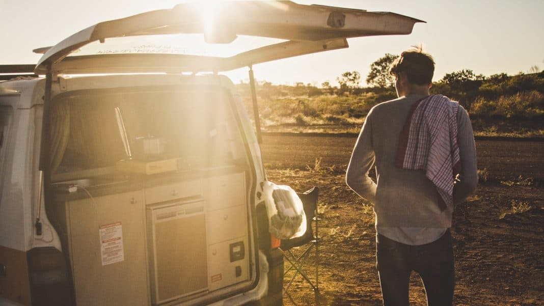 road trip campervan
