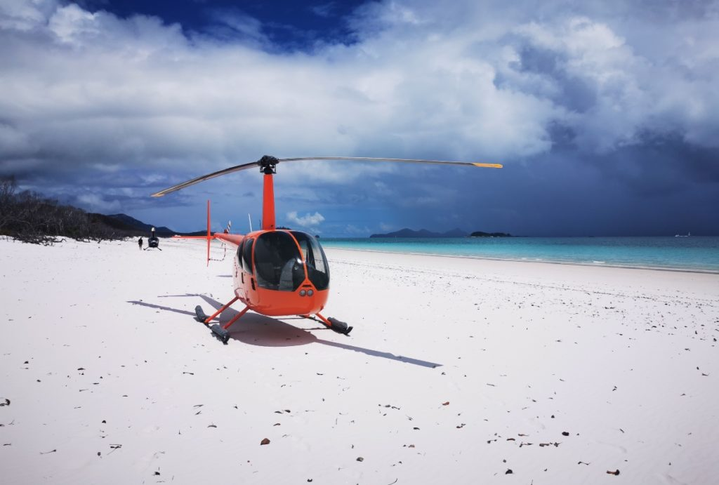 Whitsunday islands helicopter
